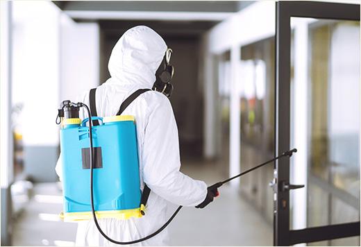 消毒・清掃管理