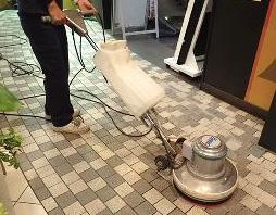 ポリッシャー洗浄