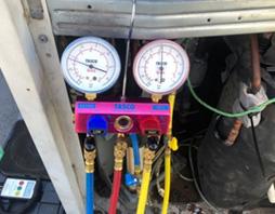 ガス圧測定
