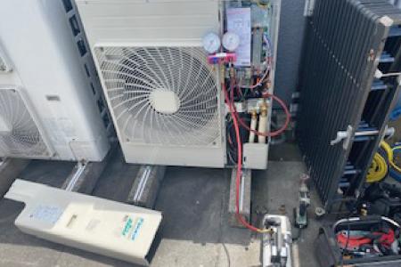 ニプラの設備更新工事9