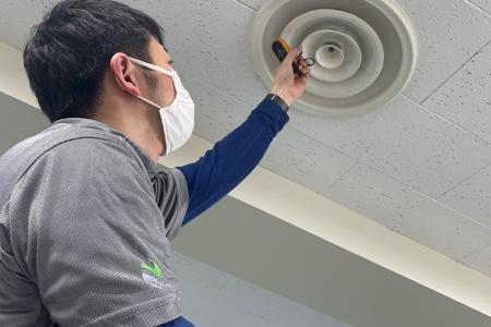 ニプラの空気環境管理