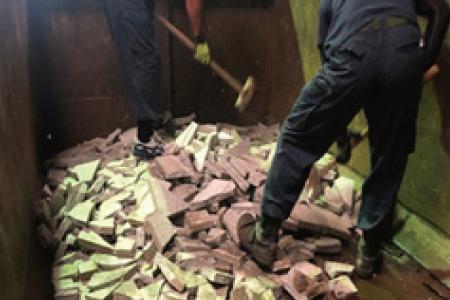 ニプラの産業廃棄物処理